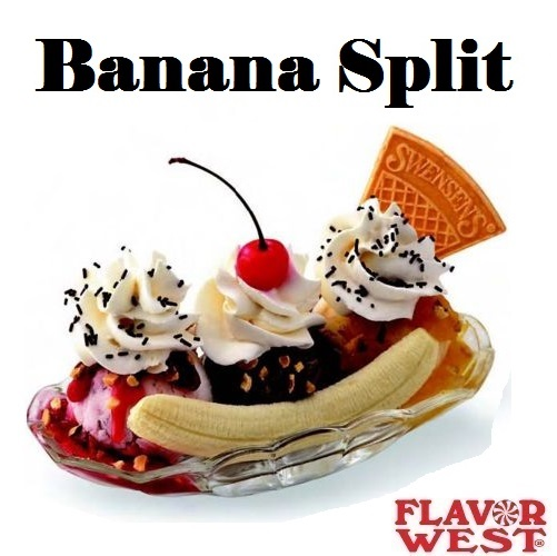 Aroma FLAVOR WEST Banana Split 10ml (nº2)