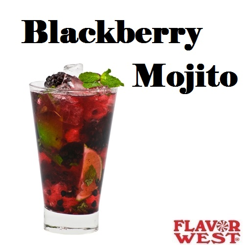 Aroma FLAVOR WEST Blackberry Mojito 10ml (nº22)