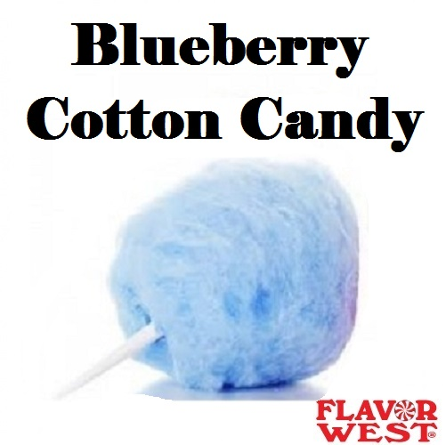 Aroma FLAVOR WEST Blueberry Cotton Candy 10ml (nº7)