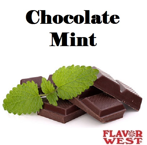 Aroma FLAVOR WEST Chocolate Mint 10ml (nº18)