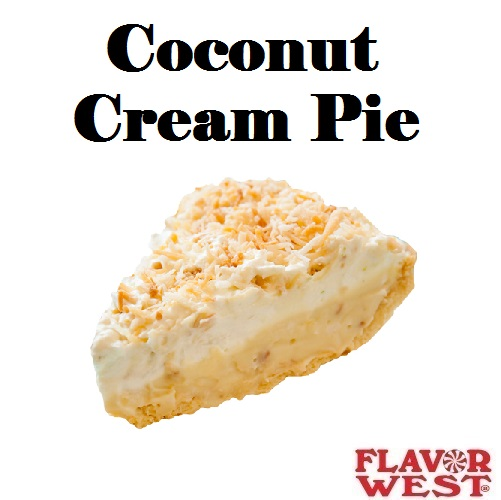 Aroma FLAVOR WEST Coconut Cream Pie 10ml (nº36)