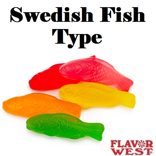Aroma FLAVOR WEST Swedish Fish Type 10ml (nº17)