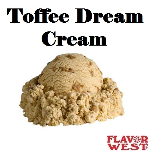 Aroma FLAVOR WEST Toffee Dream Cream 10ml (nº13)