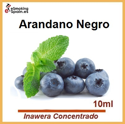 Inawera Concentrado Blueberry Black - Czarne Jagody 10ml (nº7)