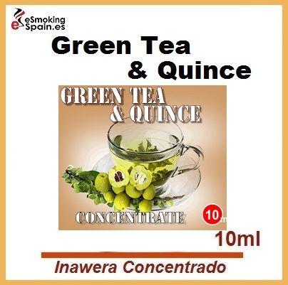Inawera Concentrado Green Tea & Quince 10ml (nº35)