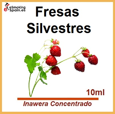 Inawera Concentrado Stravberry - Poziomka 10ml (nº6)