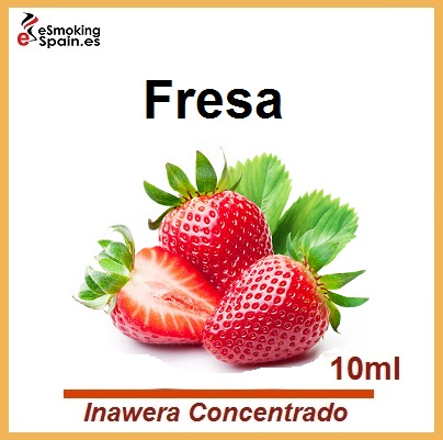 Inawera Concentrado Strawberry - Truskawka 10ml (nº10)