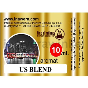 Inawera tino d\'milano e-aromat US BLEND 10ml (nº24)