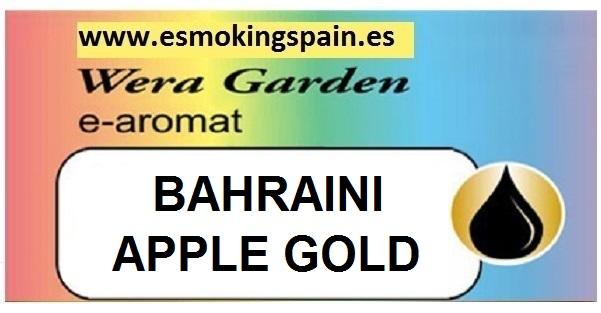 Inawera Wera garden e-aromat BAHRAINI APPLE GOLD 10ml (nº22)