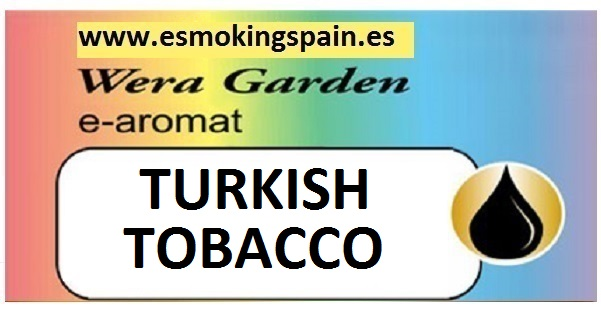 Inawera Wera garden e-aromat TURKISH TOBACCO 10ml (nº18)