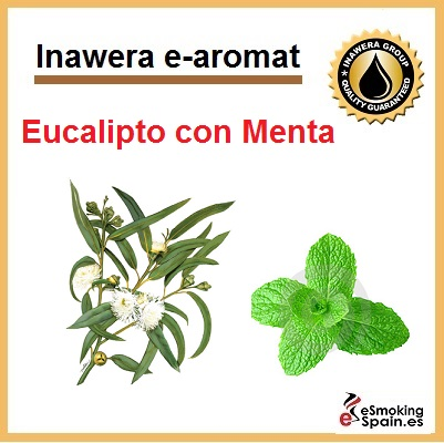 Inawera e-aroma Eucalyptus with mint 10ml (nº17)