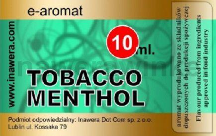 Inawera e-aroma Tobacco Menthol 10ml (nº61)