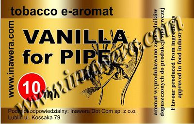 Inawera e-aroma Vanilla for Pipe 10ml (nº1)