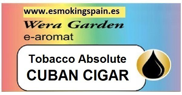 Inawera Wera garden e-aromat Tobacco Absolute CUBAN CIGAR 10ml (
