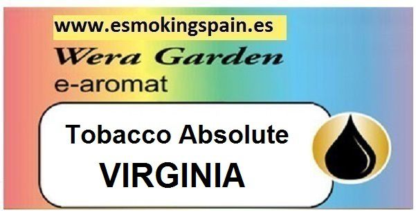 Inawera Wera garden e-aromat Tobacco Absolute VIRGINIA 10ml (nº1