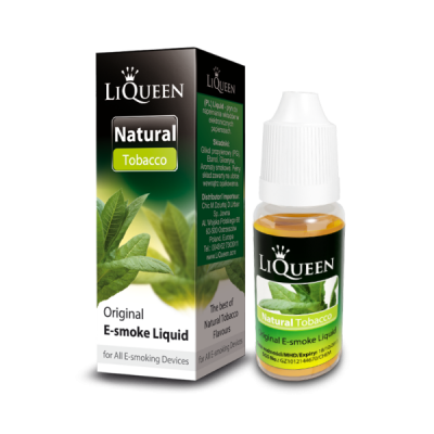 Liquido LiQueen Natural Tabaco 10ml