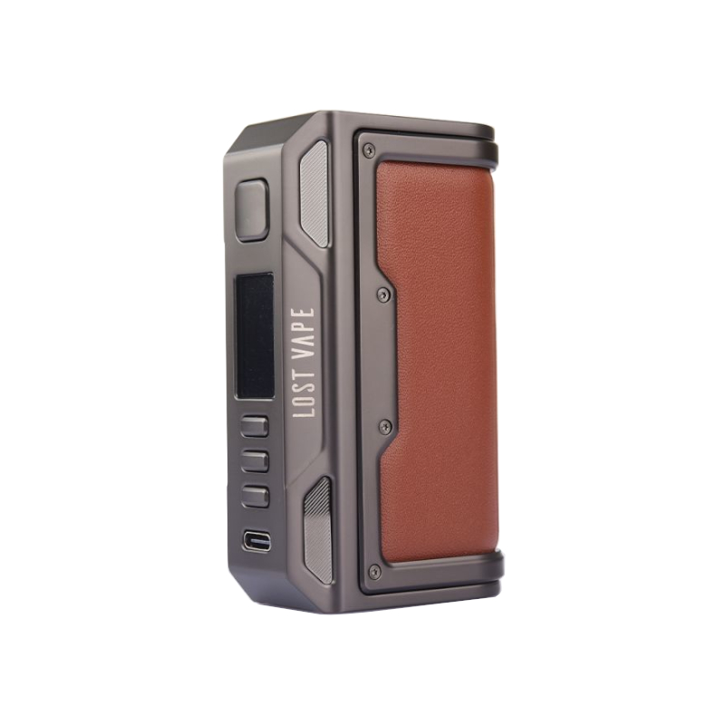 Lost Vape Thelema Quest 200W Gunmetal Calf Leather