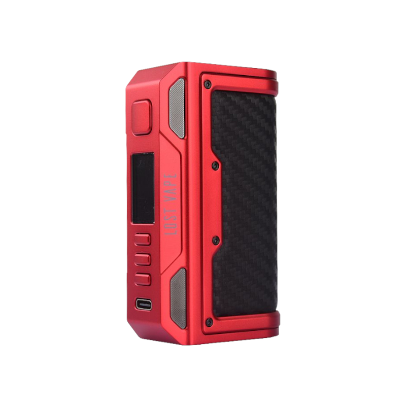 Lost Vape Thelema Quest 200W Red Carbon Fiber