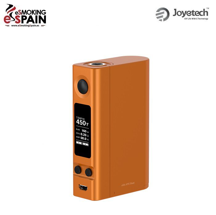 Mod Joyetech eVic VTC Dual Orange