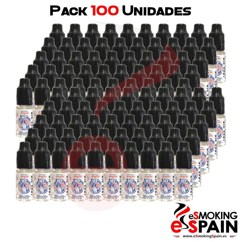 Pack 100 Unidades Nicokit NY Flavors 50VG/50PG 9mg/ml