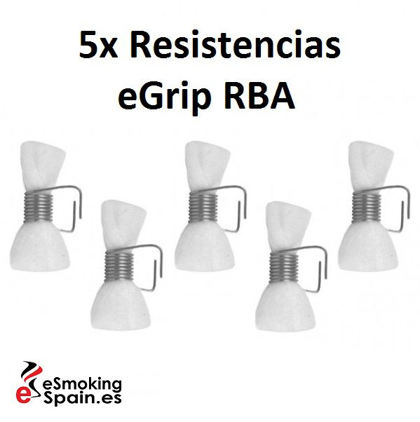 Pack Resistencias eGrip RBA