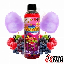 Hello Cloudy Purple Rain Format XL 200ml 0mg