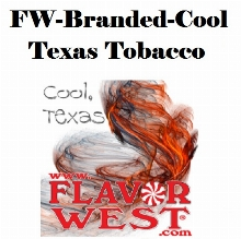 Aroma FLAVOR WEST FW-Branded-Cool,Texas Tobacco 10ml (nº154)