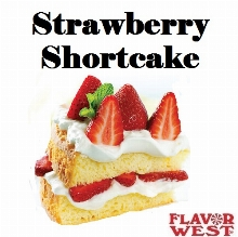 Aroma FLAVOR WEST Strawberry Shortcake 10ml (nº15)