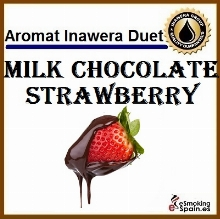 Inawera Aroma Duets Milk Chocolate Strawberry 10ml (nº10)