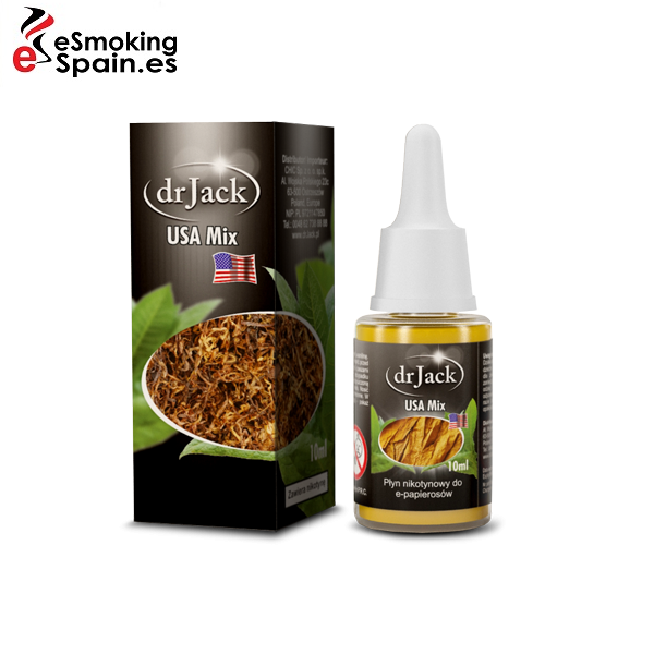 Liquido dr Jack USA Mix 10ml (sabor a tabaco)
